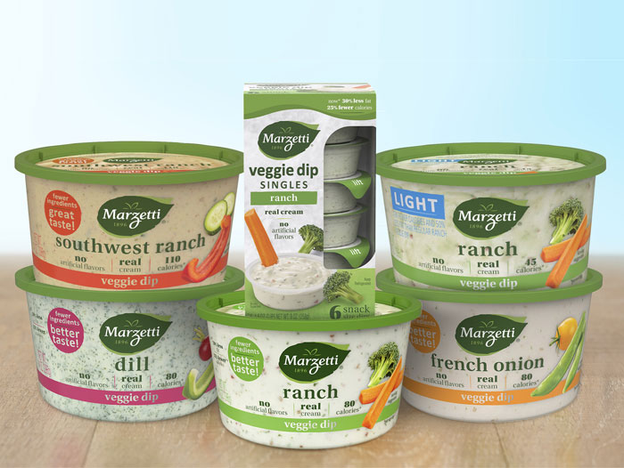 Marzetti Announces A Revamp For Its Veggie Dips Recipes