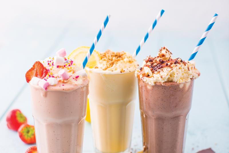 milkshakes market