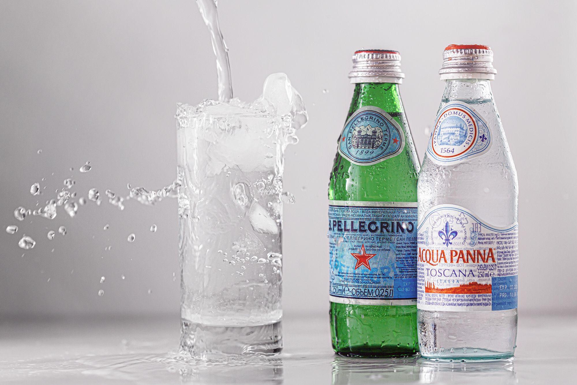 Sparkling Bottled Water